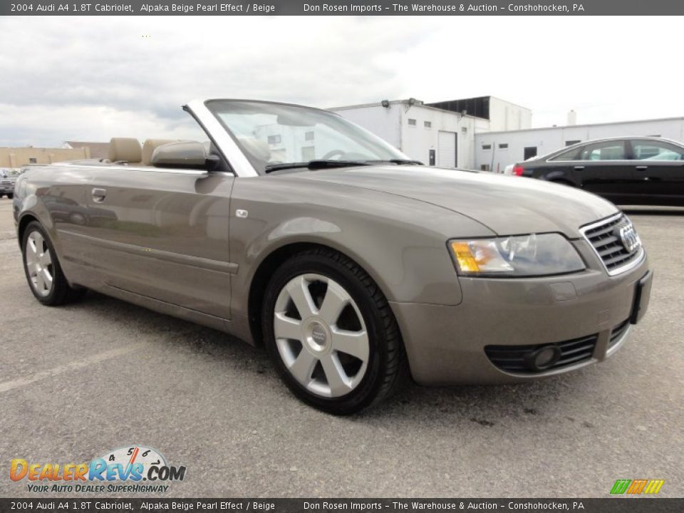 2004 audi a4 1 8t cabriolet alpaka beige pearl effect beige photo 5. Black Bedroom Furniture Sets. Home Design Ideas