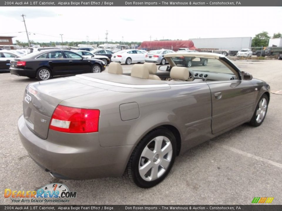2004 audi a4 1 8t cabriolet alpaka beige pearl effect beige photo 8. Black Bedroom Furniture Sets. Home Design Ideas