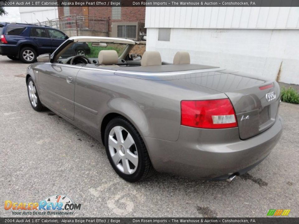 2004 audi a4 1 8t cabriolet alpaka beige pearl effect beige photo 10. Black Bedroom Furniture Sets. Home Design Ideas