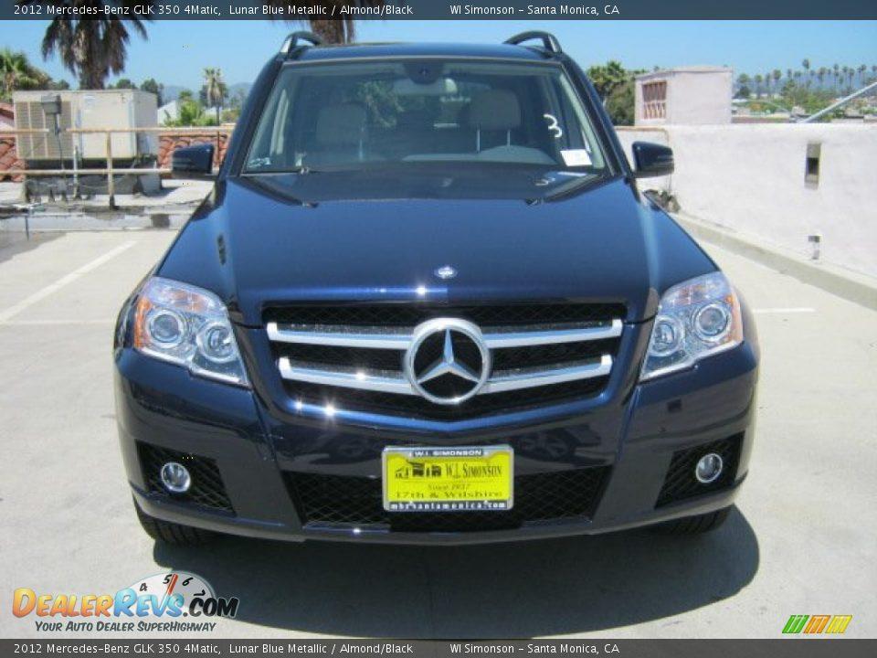 2012 mercedes benz glk 350 4matic lunar blue metallic for Mercedes benz lunar blue