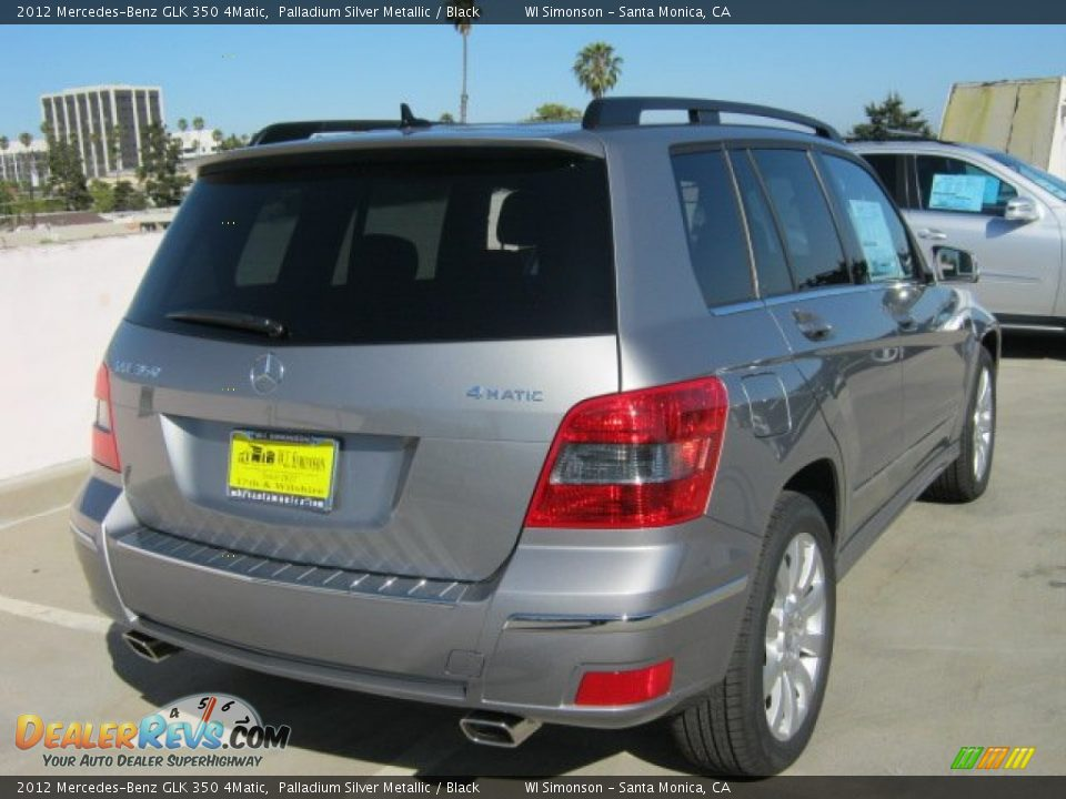 2012 mercedes benz glk 350 4matic palladium silver for Mercedes benz glk 2012