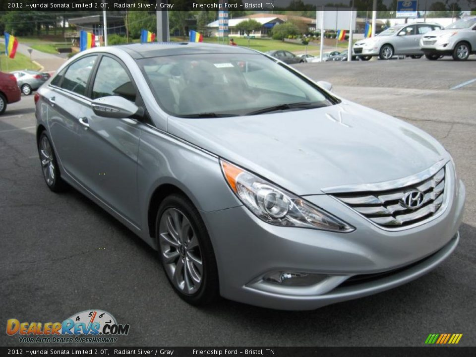 2012 hyundai sonata limited 2 0t radiant silver gray photo 4. Black Bedroom Furniture Sets. Home Design Ideas