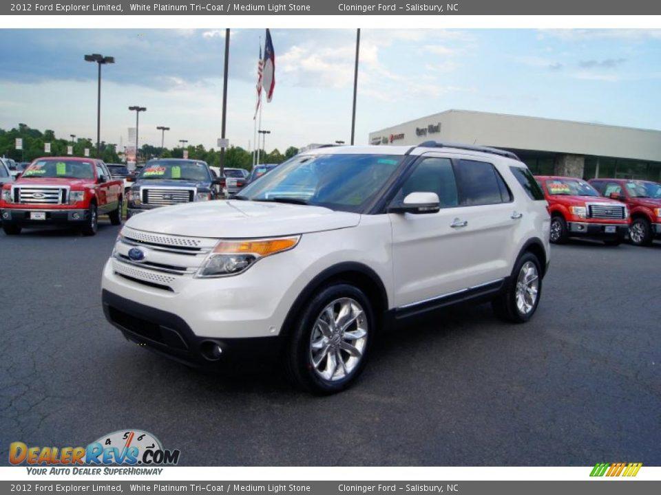 Ford Explorer Limited >> 2012 Ford Explorer Limited White Platinum Tri-Coat ...