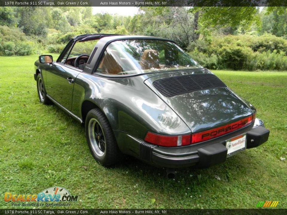 1978 Porsche 911 Sc Targa Oak Green Cork Photo 12