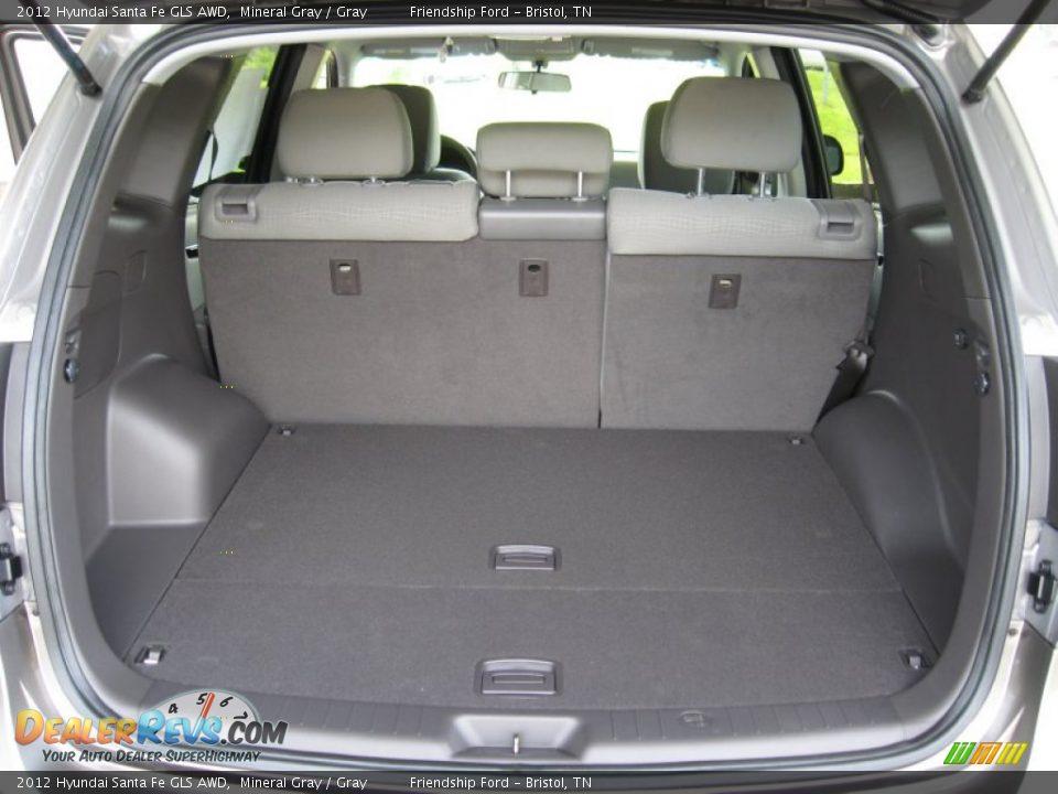 hyundai santa fe trunk space latest news car. Black Bedroom Furniture Sets. Home Design Ideas