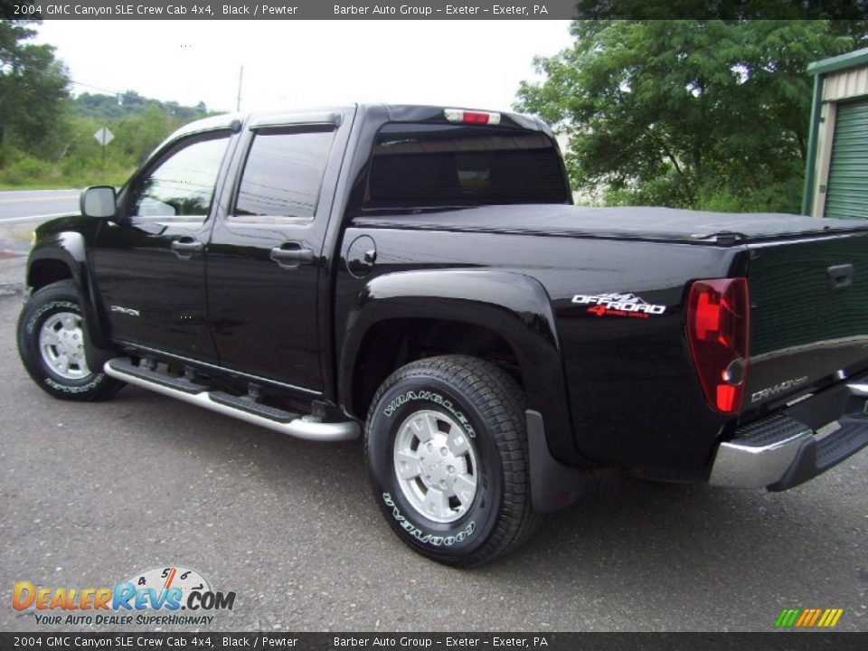 2004 gmc canyon sle crew cab 4x4 black pewter photo 5. Black Bedroom Furniture Sets. Home Design Ideas