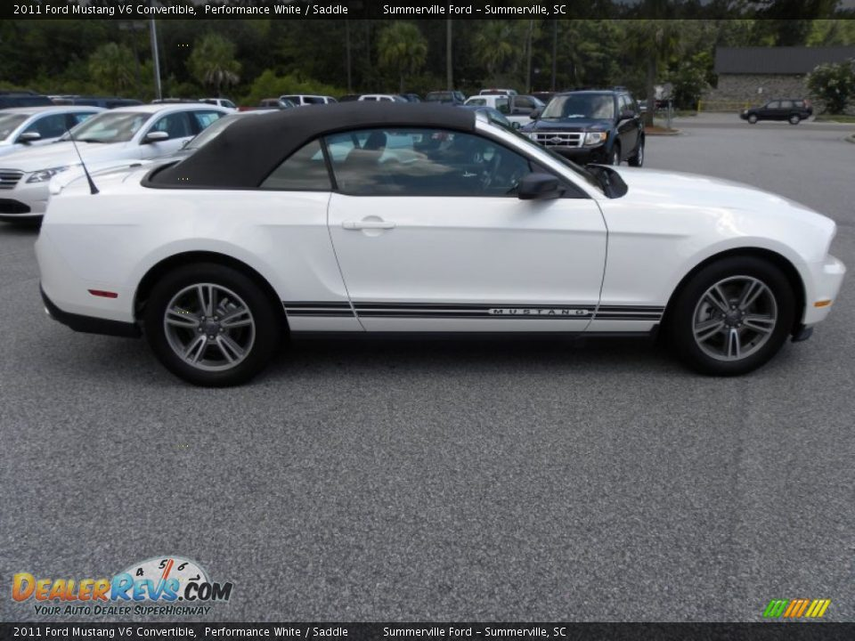 2011 ford mustang v6 convertible performance white. Black Bedroom Furniture Sets. Home Design Ideas