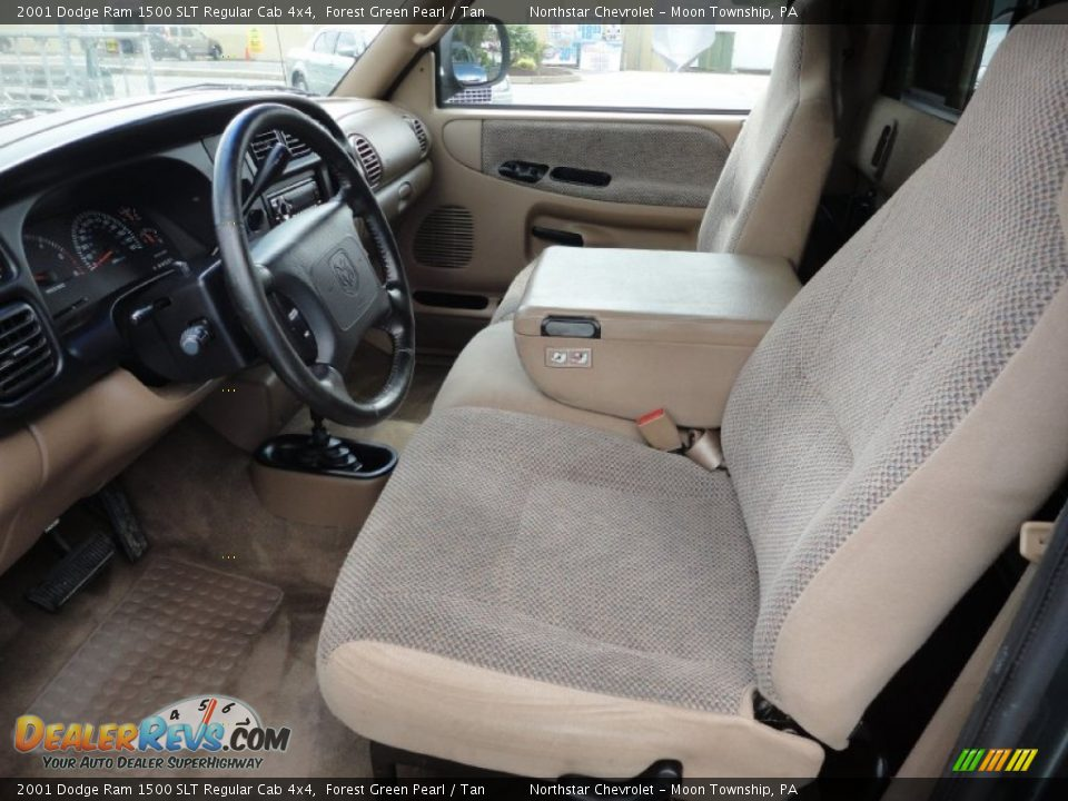 tan interior 2001 dodge ram 1500 slt regular cab 4x4. Black Bedroom Furniture Sets. Home Design Ideas