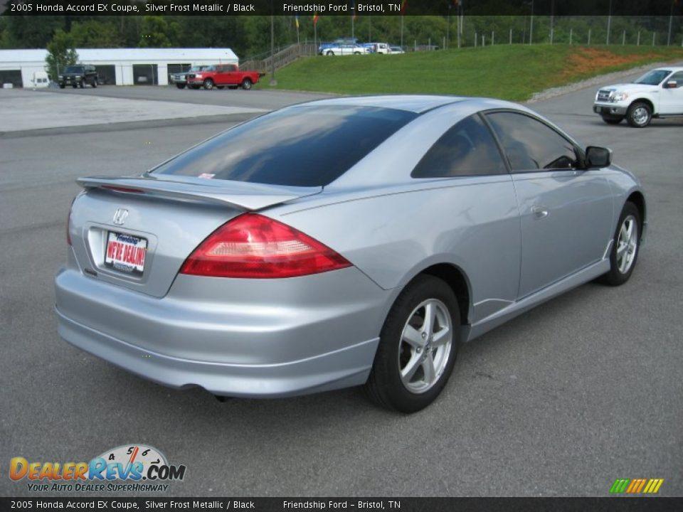 2005 honda accord ex coupe silver frost metallic black photo 6 dealerrevs