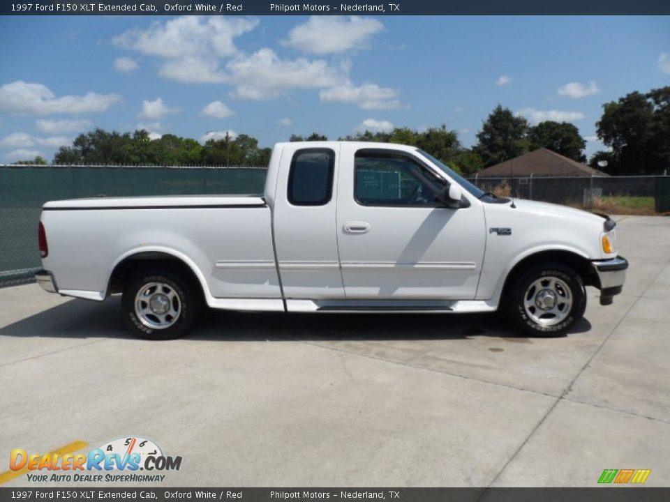 1997 ford f150 xlt extended cab oxford white red photo 2. Black Bedroom Furniture Sets. Home Design Ideas