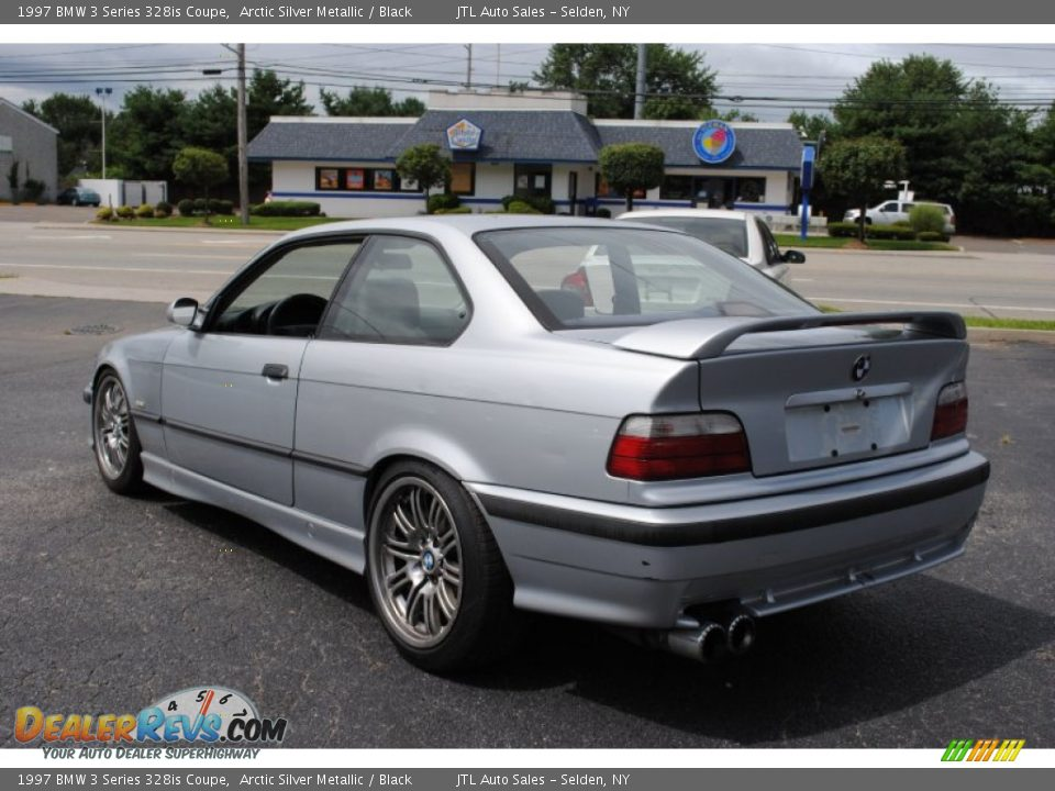 arctic silver metallic 1997 bmw 3 series 328is coupe photo 4. Black Bedroom Furniture Sets. Home Design Ideas