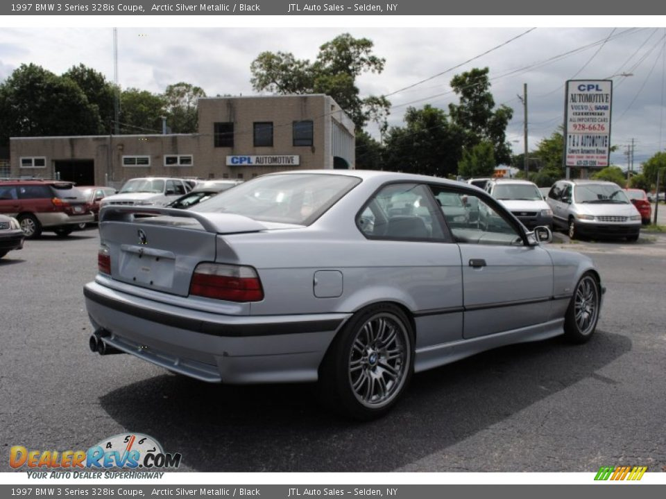 1997 bmw 3 series 328is coupe arctic silver metallic black photo 6 dealerrevs com