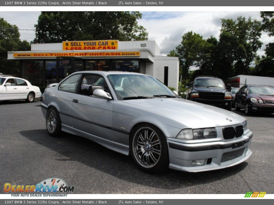 1997 bmw 3 series 328is coupe arctic silver metallic black photo 7. Black Bedroom Furniture Sets. Home Design Ideas