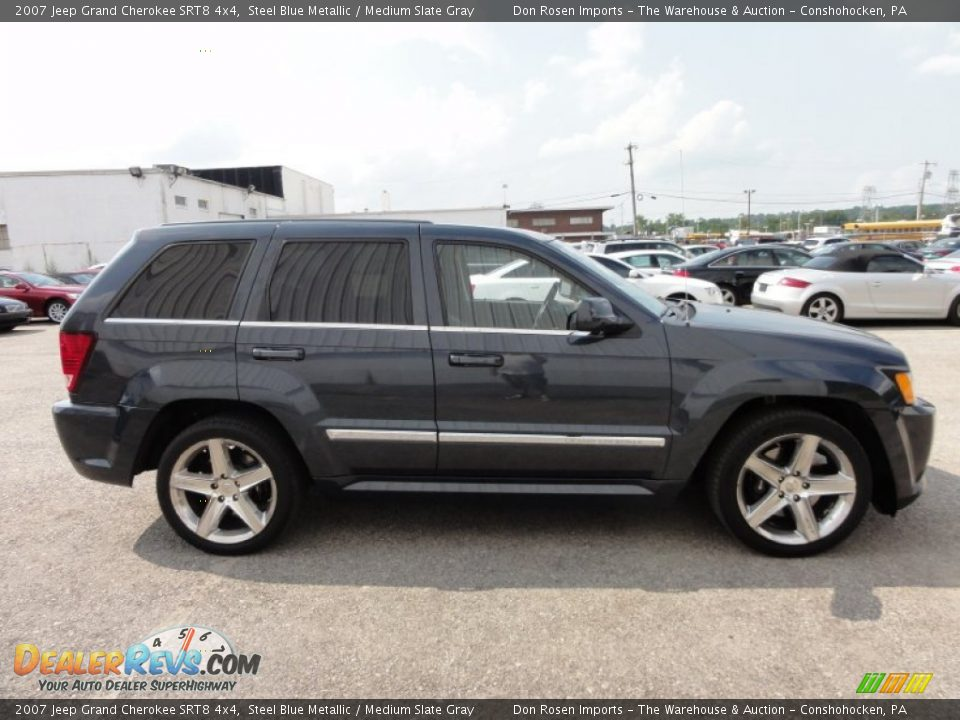 2007 jeep grand cherokee srt8 4x4 steel blue metallic medium slate. Cars Review. Best American Auto & Cars Review