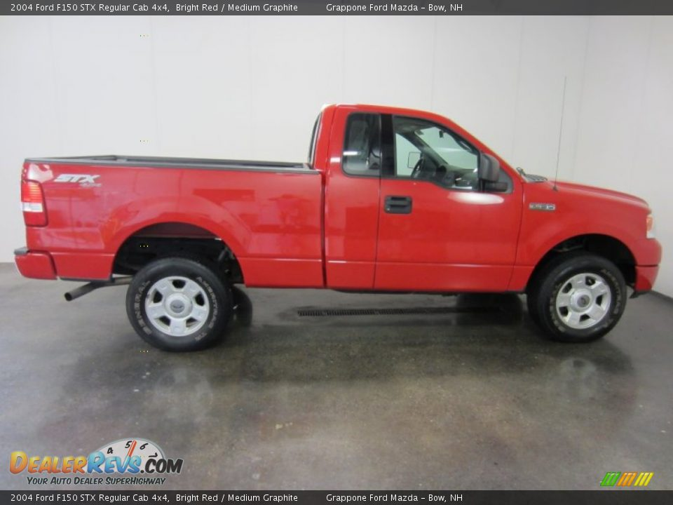 2004 ford f150 stx regular cab 4x4 bright red medium. Black Bedroom Furniture Sets. Home Design Ideas