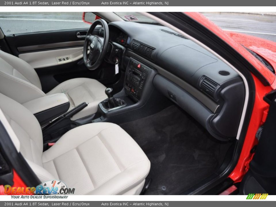 ecru onyx interior 2001 audi a4 1 8t sedan photo 7. Black Bedroom Furniture Sets. Home Design Ideas