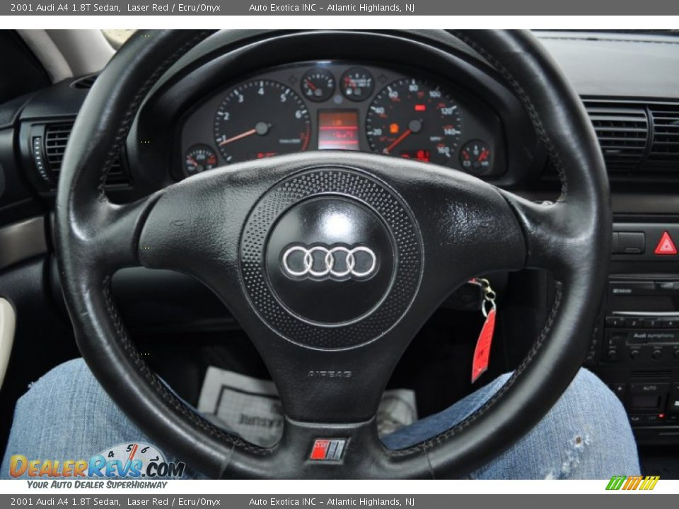 2001 Audi A4 1 8t Sedan Steering Wheel Photo 10
