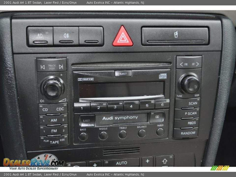 audio system of 2001 audi a4 1 8t sedan photo 13. Black Bedroom Furniture Sets. Home Design Ideas