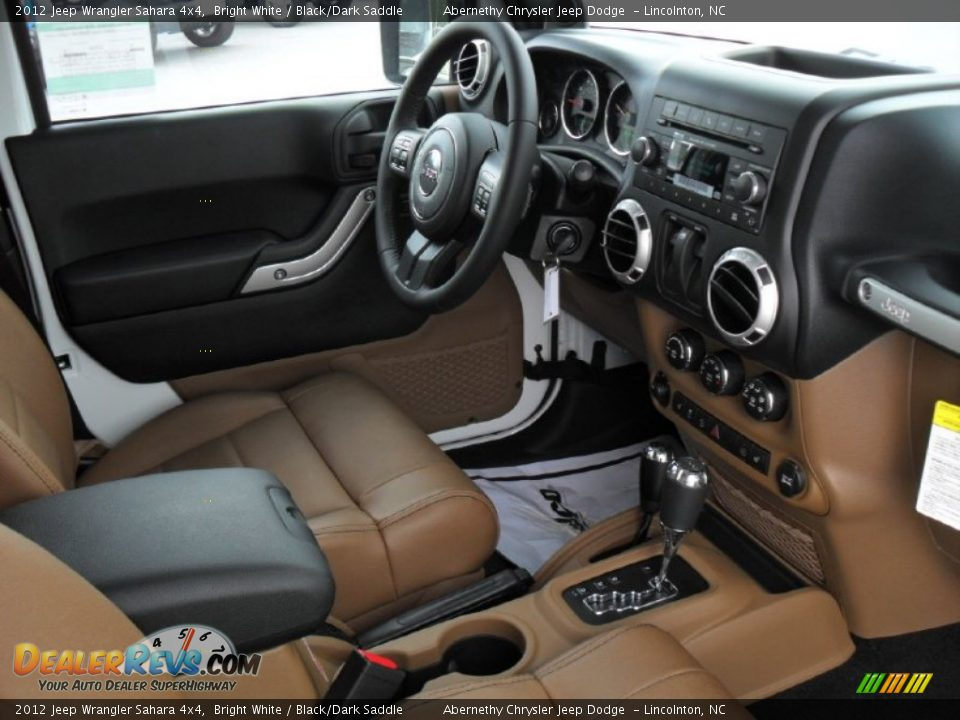 black dark saddle interior 2012 jeep wrangler sahara 4x4 photo 20. Black Bedroom Furniture Sets. Home Design Ideas