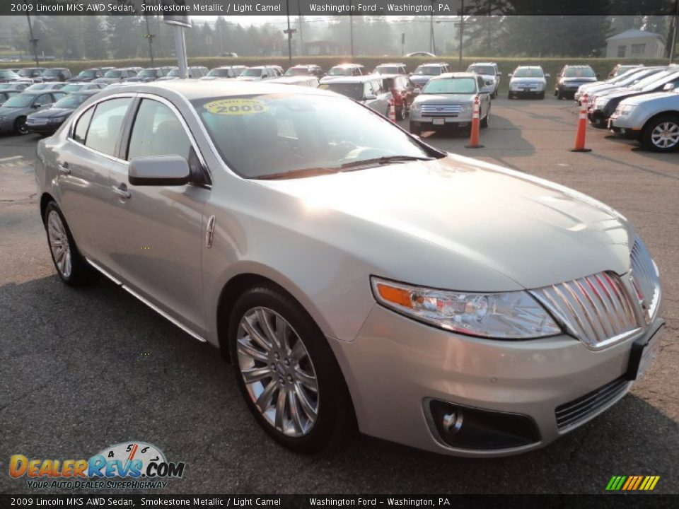 2009 lincoln mks awd sedan smokestone metallic light. Black Bedroom Furniture Sets. Home Design Ideas