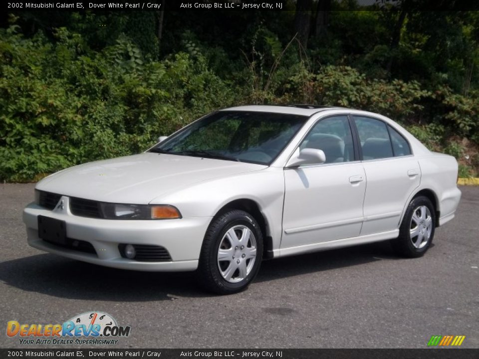 2002 Mitsubishi Galant Es Dover White Pearl Gray Photo