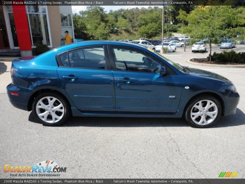2008 Mazda Mazda3 S Touring Sedan Phantom Blue Mica