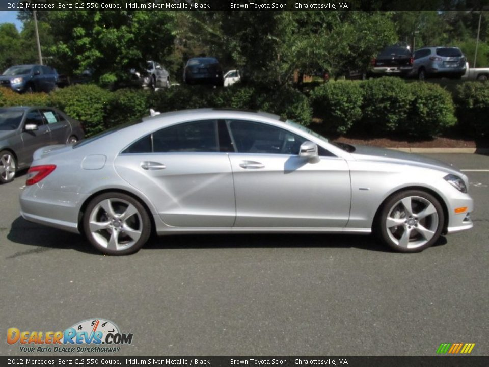 2012 mercedes benz cls 550 coupe iridium silver metallic for 2012 mercedes benz cls