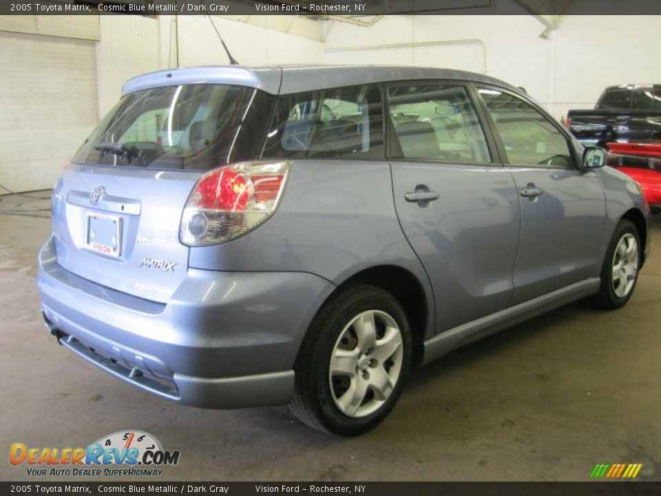 2005 Toyota Matrix Cosmic Blue Metallic Dark Gray Photo