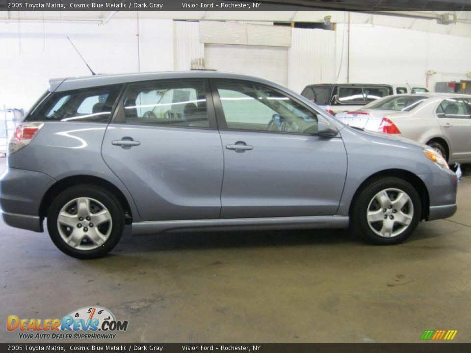 2005 toyota matrix cosmic blue metallic dark gray photo. Black Bedroom Furniture Sets. Home Design Ideas