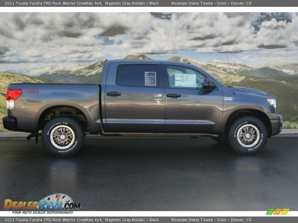 2011 Toyota Tundra TRD Rock Warrior CrewMax 4x4 Magnetic