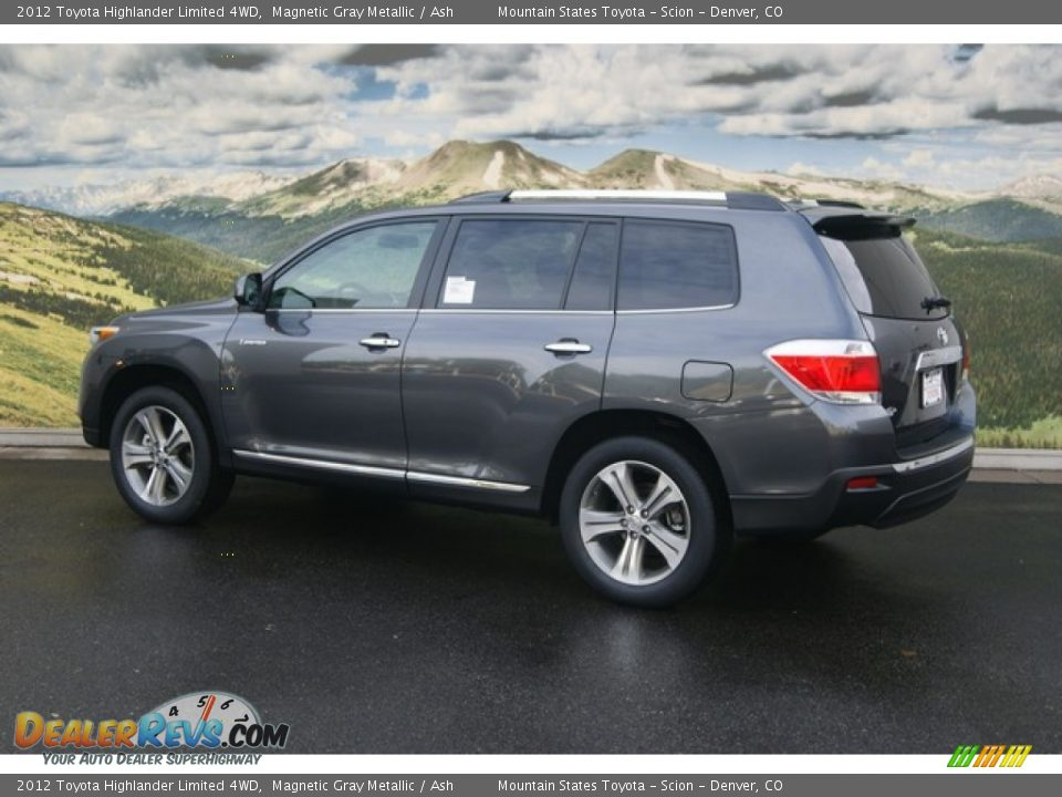 2012 Toyota Highlander Limited 4WD Magnetic Gray Metallic ...