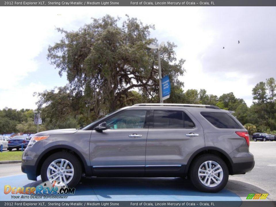 Sterling Gray Metallic 2012 Ford Explorer XLT Photo #2