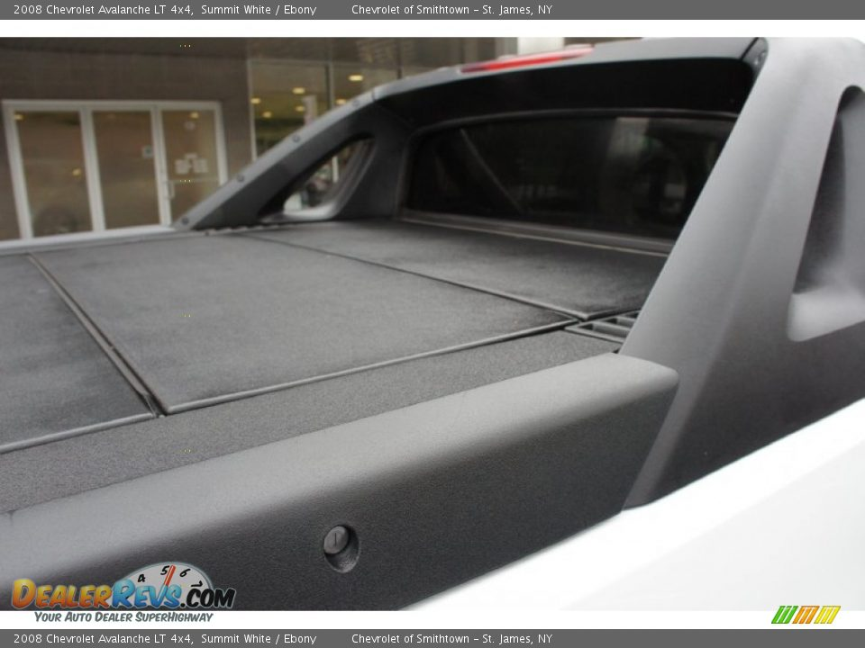 2008 Chevrolet Avalanche LT 4x4 Summit White / Ebony Photo #23