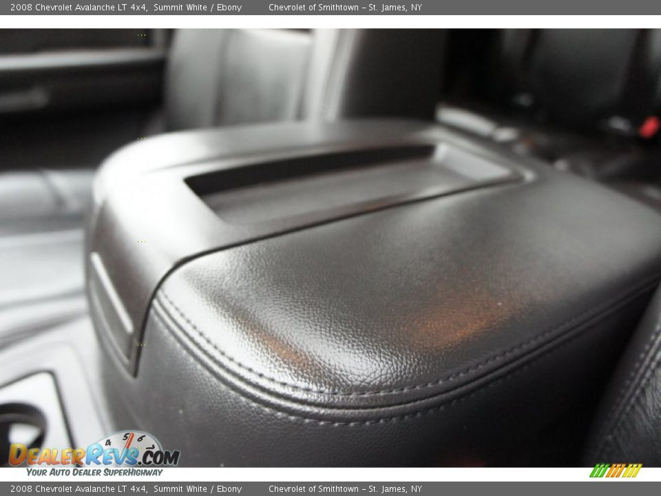 2008 Chevrolet Avalanche LT 4x4 Summit White / Ebony Photo #36