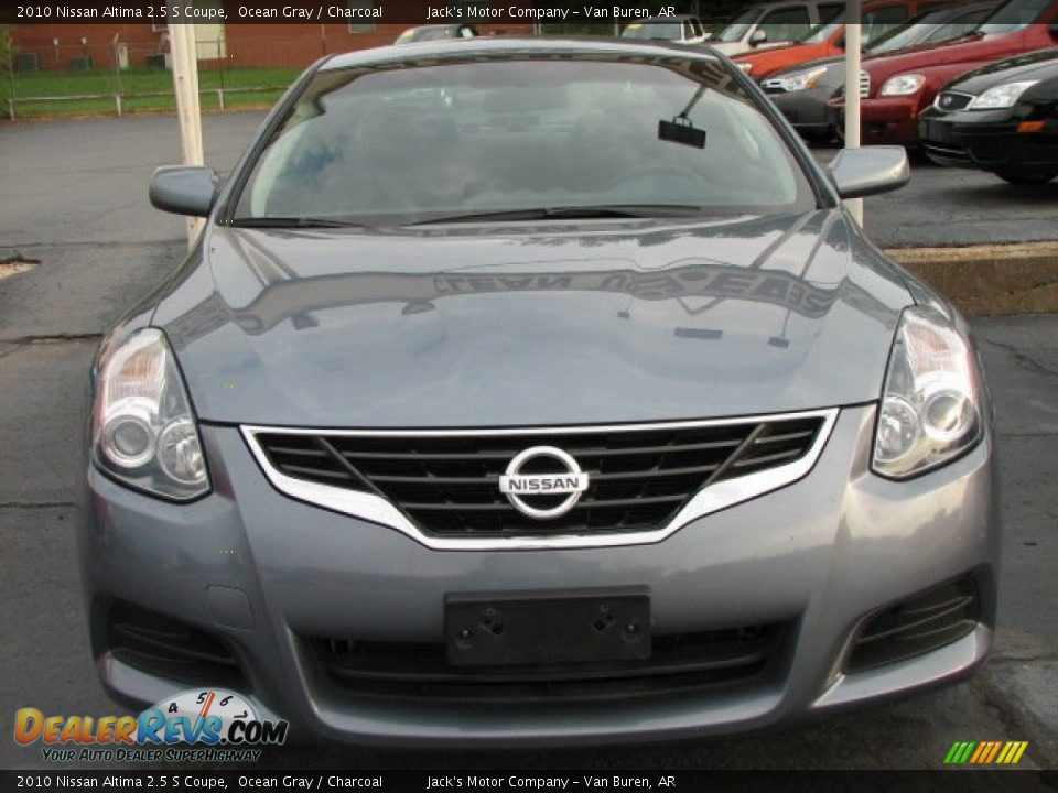 2010 nissan altima 2 5 s coupe ocean gray charcoal photo 2. Black Bedroom Furniture Sets. Home Design Ideas