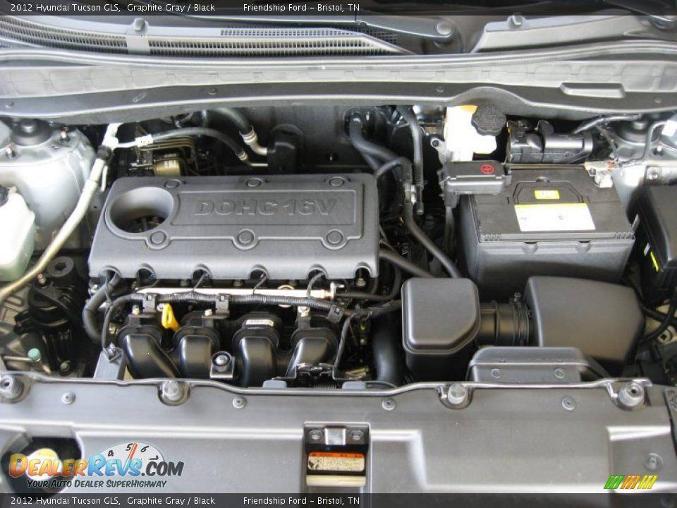 2012 Hyundai Tucson Gls 2 4 Liter Dohc 16 Valve Cvvt 4