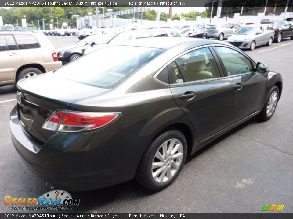 2012 mazda mazda6 i touring sedan autumn bronze beige photo 4. Black Bedroom Furniture Sets. Home Design Ideas