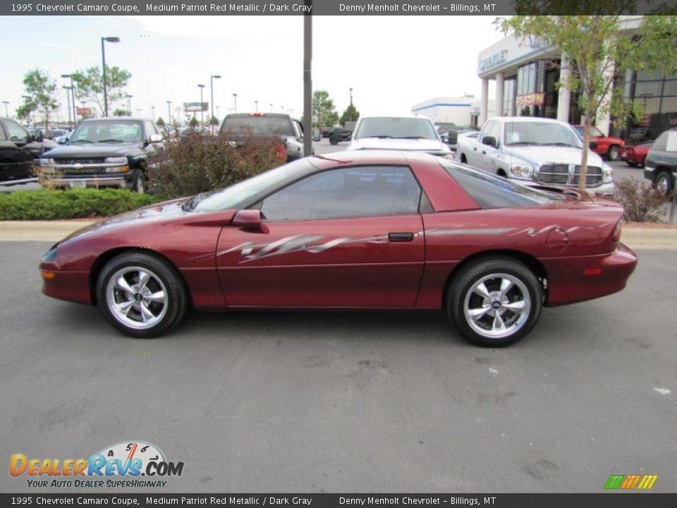 medium patriot red metallic 1995 chevrolet camaro coupe. Black Bedroom Furniture Sets. Home Design Ideas