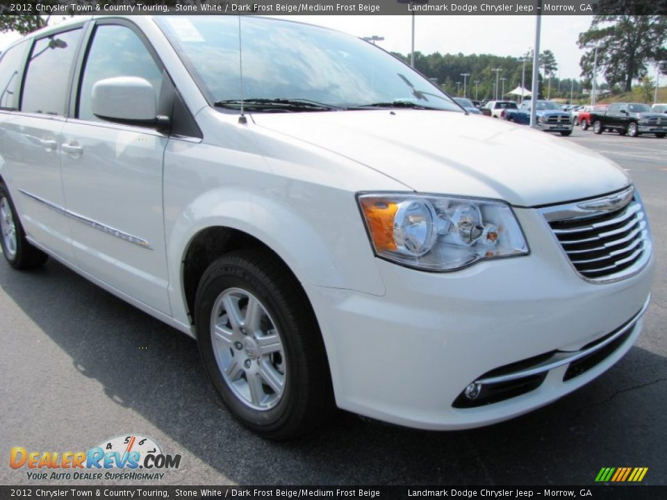2012 chrysler town country touring stone white dark for Stone s town country motors
