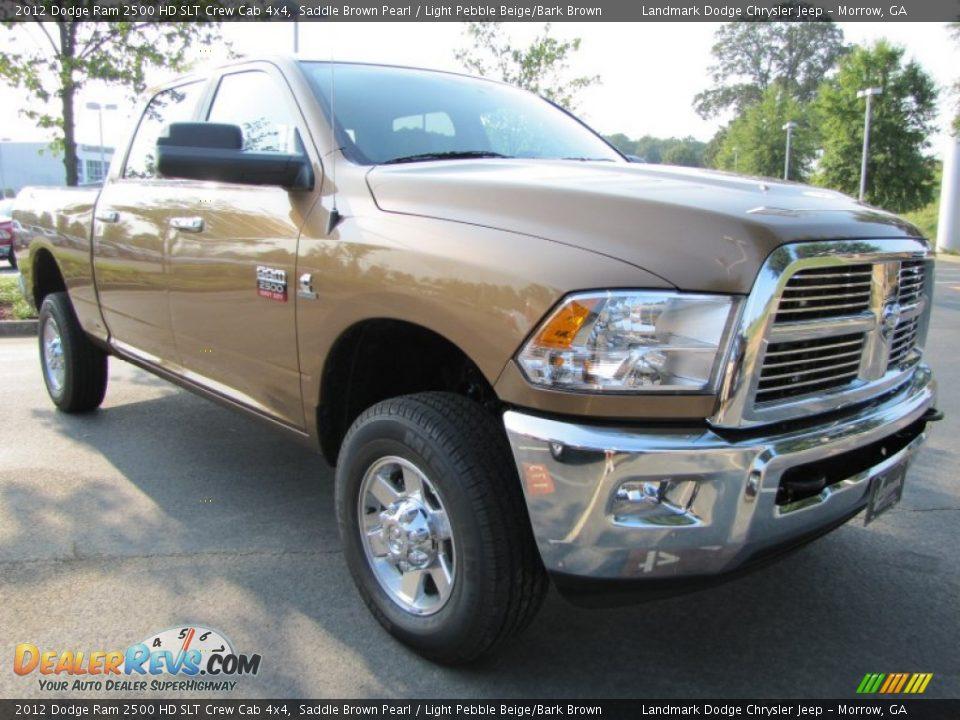 Dodge Ram 2017 >> Saddle Brown Pearl 2012 Dodge Ram 2500 HD SLT Crew Cab 4x4 ...