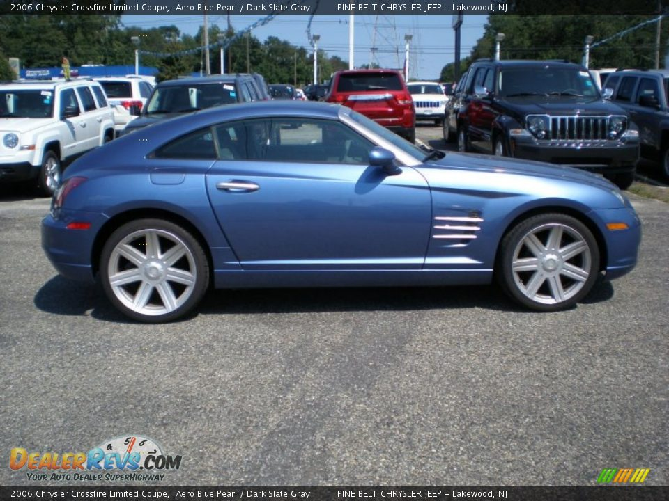 Aero Blue Pearl 2006 Chrysler Crossfire Limited Coupe
