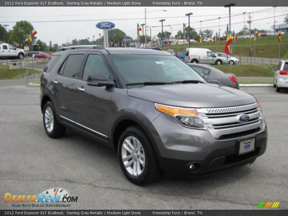 Used Cars Pittsfield Ma 2012 Ford Explorer XLT EcoBoost Sterling Gray Metallic / Medium Light ...