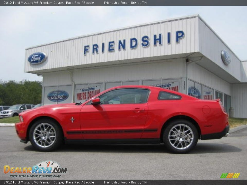 2012 ford mustang v6 premium coupe race red saddle photo 1. Black Bedroom Furniture Sets. Home Design Ideas