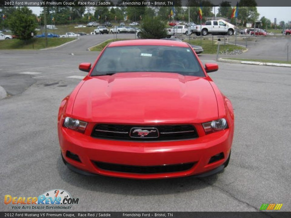 2012 ford mustang v6 premium coupe race red saddle photo 3. Black Bedroom Furniture Sets. Home Design Ideas