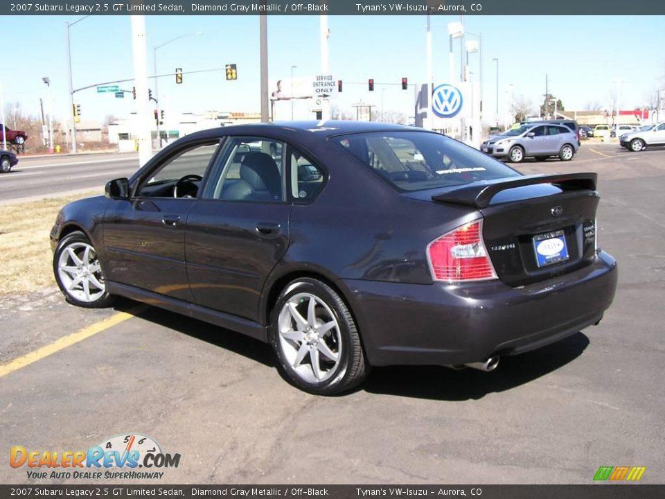 2007 Subaru Legacy 2 5 Gt Limited Sedan Diamond Gray