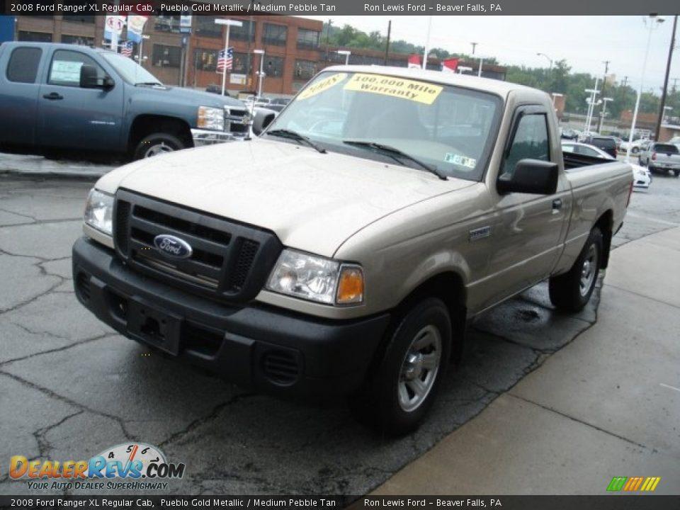 2017 Ford Ranger >> 2008 Ford Ranger XL Regular Cab Pueblo Gold Metallic ...