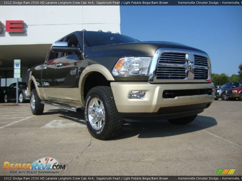 2012 dodge ram 2500 hd laramie longhorn crew cab 4x4 sagebrush pearl light pebble beige bark. Black Bedroom Furniture Sets. Home Design Ideas