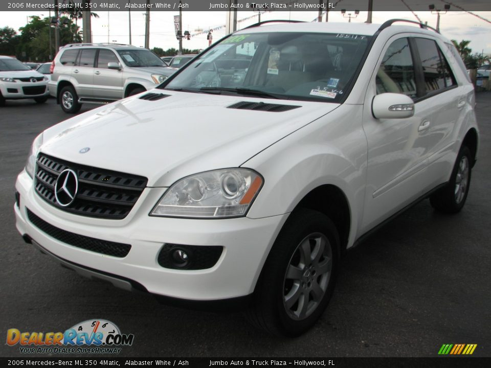 2006 mercedes benz ml 350 4matic alabaster white ash for 2006 mercedes benz ml350 4matic