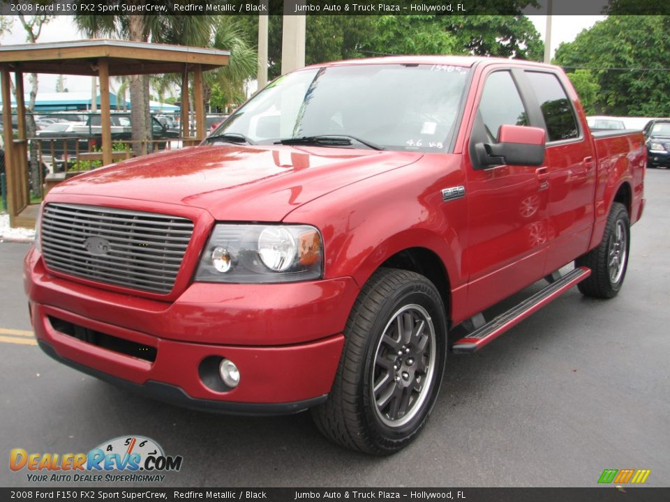 2008 ford f150 fx2 sport supercrew redfire metallic black photo 5. Black Bedroom Furniture Sets. Home Design Ideas