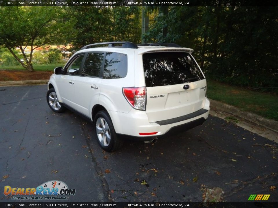 2009 subaru forester 2 5 xt limited satin white pearl. Black Bedroom Furniture Sets. Home Design Ideas